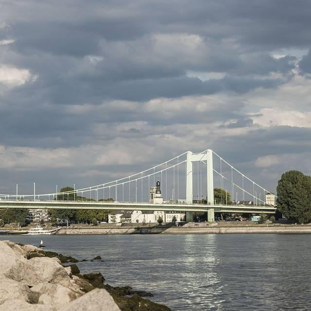 Mülheimer Brücke Sperrung